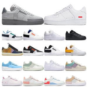 nike air force 1 Men 1 Utility Classic Black White Dunk Women Casual Shoes red one Skateboard High Low Cut Entrenadores deportivos Wheaters tamaño 36-45