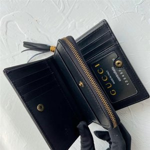 Purse Wallet Holder Famous Brand High Quality Genuine Leather purse Credit Card bag Clutch Boxed