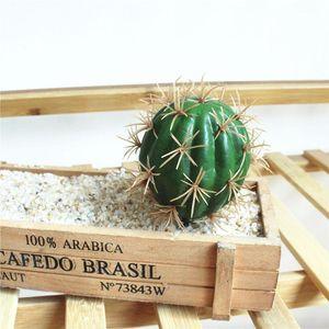 5 estilos de plantas Flor Simulação Artificial Cactus Succulent Vivid casamento Creative Home Decor Flor Artificial