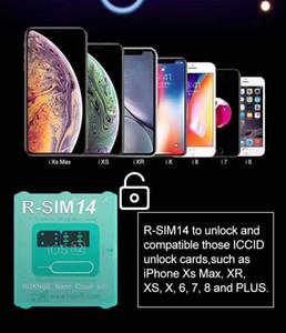 Carte de déverrouillage d'origine et toute nouvelle RSIM14 RSIM 14 pour iphone compatible avec TOUT IOS et modèle avec livraison gratuite