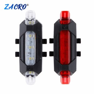 Bicycles Taillight Rechargeable Rear lights Bicycle LED USB Tail Safety Warning Bicycle light waterproof Light For Cycling Bicycle