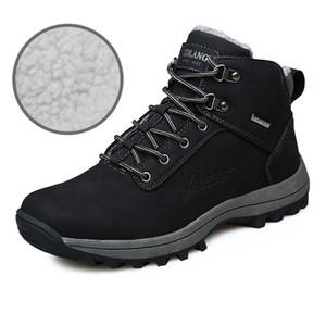Outdoor Large Size Snow Boots Warm und Velvet Cotton Schuhe Herren Sneakers Anti-Rutsch-Schnee-Aufladungen