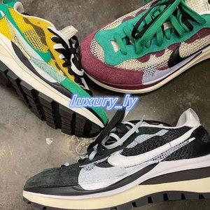 2020 salling Sacai x LPegasus VaporFly SP Waffle Running Designer Shoes Women Gusto Varsity green Men Trainers Sports Sneakers BV0073-102