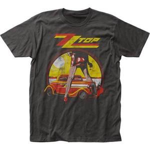 T-shirt girocollo in cotone moda T-shirt ZZ Top - T-shirt manica corta da uomo