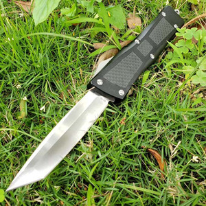 9.5 inch Combat troo-don mic Double Action Tactical Automatic knife Ho hellhound tech VG10 bounty hunter UT85 A162 self defense pocket knife