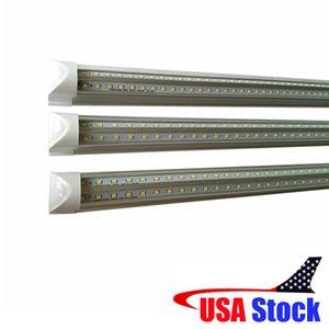 통합 LED 관 4FT5FT6FT8FT LED T8 52W72W Led 관 빛 V 모양 형광등 연한 색 상자 패킹
