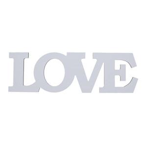 1 PCS الديكور المنزلي الخشب رسالة خشبية الأبجدية الكلمة الحرة الدائمة الزفاف الجزء الميلاد