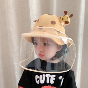 На складе 18см Дети длиной маски для лица против пены лицевой маски съемного защитного кожуха может быть согласовано со всеми видами шляп FY9035