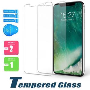 Protector de pantalla para Samsung LG stylo 5 A71 A20 A30 A50 A70 A10E vidrio templado para el iPhone 11 PRO MAX 8 8 Plus SE y sin paquete
