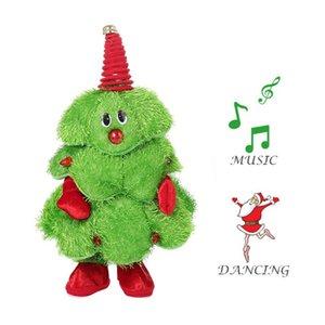 Рождество Новый Подарок Танцы Электрические Музыкальные Игрушки Санта-Клаус Кукла Тверкинг Пение Санта Шляпа / Рождественская Елка Плюшевые Игрушки Смешные Дети