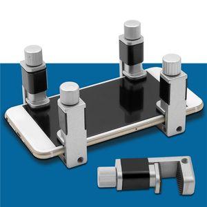 قابل للتعديل المعادن كليب تركيبات المشبك أدوات إصلاح الهاتف LCD شاشة تثبيت المشبك كليب للحصول على الهاتف / وسادة / اللوحي