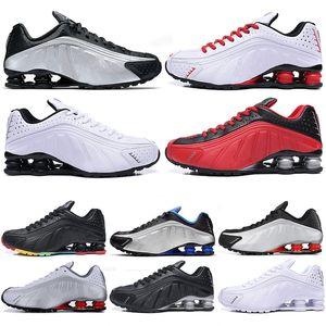 Горячие Дизайнерская марка R4 Мужчины Спортивная обувь Тройные Черный Белый TOP Chaussures DELIVER OZ NZ 802 809 Кроссовки Кроссовки Zapatillas