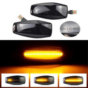 2pcs para Hyundai fluye Indicador LED de agua Marcador vuelta del lado de la luz de señal para Hyundai Elantra Getz Sonata XG Terracan Tucson Kia Rio