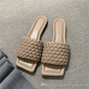 new women slipper  shoes  summer fashion casual shoes sandals star platform B size Woven fine grid 4 color 35-42 with box
