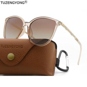 TUZENGYONG 2020 nuovo progettista degli occhiali da sole delle donne polarizzati UV400 occhiali da sole signore di guida Eyewear