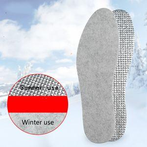 Winter Warm Sports Insoles For Shoes Men Women Deodorant Felt Shoe Inserts Pad Sole Cushion Inlegzolen Plantillas Para Los Pies