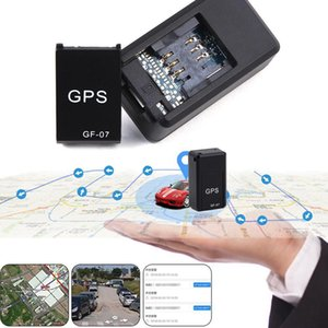 New GF07 GSM GPRS Mini Car Magnetic dispositivo GPS Tracking Gravação Anti-Lost Locator Rastreador rastreador GPS tracker Buil-in Li-ion Battery