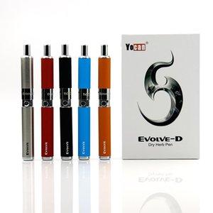 Classical Yocan Evolve Plus D Dry Herb Vape Pen Starter Kit 650mAh Ego Battery Herbal Wax Evolve-D Atomizer E Cigs XL Dry Herb Vaporizer