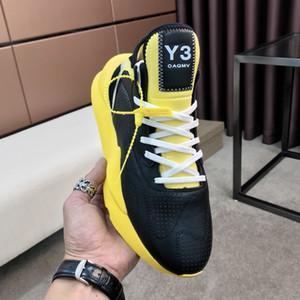 Yeni Y-3 Kaiwa Sneakers erkek spor ayakkabıları Keva serisi Retro vahşi hafif eski ayakkabı 40-45 boyutu