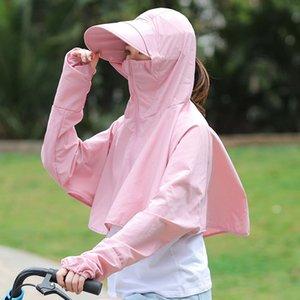 женский солнцезащитный экран езда на электромобиле солнцезащитный крем шляпа открытый УФ-доказательство солнцезащитная шляпа