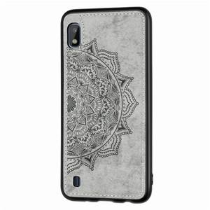 Mandala pressão flor padrão de impressão pc lona impermeável TPU caso de telefone 3D para Sansung A10 A60 M30 Nota 10 10pro