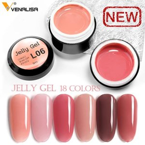 Venalisa Opal gel UV 5ml Camouflage Natural Color Jelly acrilico francese unghie gel di arte polacca Crystal Nails UV Jelly Gel Vernici