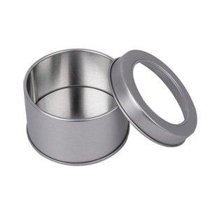 الحديد مربع جولة خزان الغذاء التعبئة دائرية نافذة حالة العملة صفيح القمر كعكة السكر الحاويات مصنع البيع المباشر 1 3dy p1