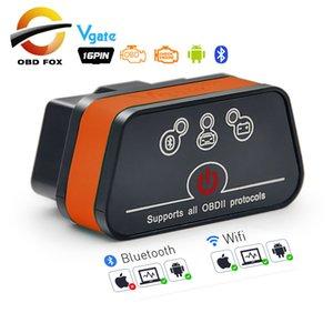Vgate iCar2 ELM327 obd2 Bluetooth scanner elm 327 V2.1 obd 2 wifi icar 2 auto diagnostic scanner for android PC IOS code reader