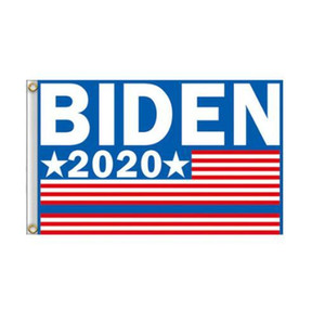 Trump 2020 Uçan Bayrak Amerikan Dekor Banner GGA3466-2N Asma Joe Biden Bayrağı 90 * 150cm Bahçe Bayraklar Başkanı ABD Büyük