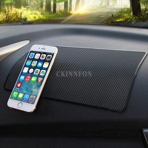 DHL 50PCS 27x15cm Anti-Slip Мат для мобильного телефона mp4 Pad GPS Антипробуксовочная автомобиля Sticky Anti-Slip Mat Work Отлично