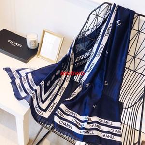 Le nouveau concepteur 4Colors marque 100% belles femmes Foulard soie délicate noble de bonne qualité foulards en soie bandeau headwrap aucune boîte