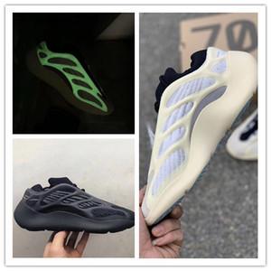 2020 الجديدة 700 أعلى جودة Azael الأسود الأبيض الرجال وتشغيل الأحذية النسائية مدرب حذاء رياضة مع حجم أسعار الجملة 12/04 مع مربع