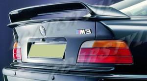 Para BMW E36 M3 Spoiler 92-98 E36 2DR 4DR Tronco Layers Spoiler Duplo Asa de fibra de carbono Spoiler