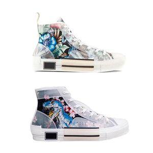 Uomini B23 Sneakers High-top in pelle Designer Technical Vintage Piattaforma Bianco Nero donne a basso top Designer Shoes formatori Runner Sole con la scatola