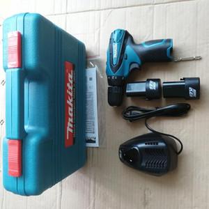 Herramienta eléctrica de alta calidad DF 330 herramienta eléctrica 6 piezas Martillo eléctrico / atornillador Kit combinado 100% de comentarios positivos envío gratis