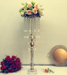 Wedding Colonne Centrotavola Acrilico infiorata stand Wedding Aisle Flower Stand senyu0004