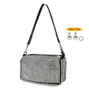 Woman Bag 2020 Diamonds Evening Clutch Bags High Quality PU Crossbody Fashion mini shoulder Bag Ladies purses and handbags New