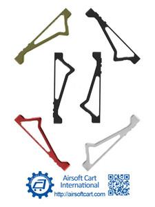 ACI K20 M20 بزاوية قبضة فور Handstop يدوية / الإيقاف لMLOK / MLOK ل[نرف] لعبة صفحة بندقية خفيفة الوزن CNC