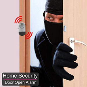 Alarme Porta Janela, Sensor magnético sem fio de alarme do assaltante Home Security com altos 120dB / baterias incluídas Anti-Theft for Home Office Hotel