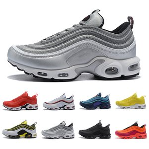 Nike air max 97 airmax 97 shoes 2019 Drop Shipping Gym rot TN plus Männer Frauen Laufschuhe Triple Schwarz Gelb Outdoor Training Sport Herren Trainer Zapatos Turnschuhe 36-45