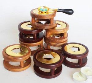 New Arts Stamp Vintage Wax Seal Beads Warmer cera de fusão Glue Furnace Ferramenta Fogão Pot Para Wax Seal Stamp Vela