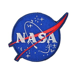 Mode taktische Patches Armband Abzeichen Magic Tape amerikanische Flagge NASA Logo Stickerei Magic Tape Patch Aufkleber