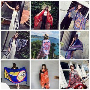 39colors Estate Ladies National vento viaggio sciarpe di lusso della nappa dello scialle Resort Telo 180 * 100 centimetri aria condizionata GGA389 50PCS