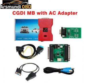 [UK Ship No Tasse] CGDI MB programmatore chiave con adattatore AC Lavora con W164 W204 W221 W209 W246 W251 W166 di dati tramite OBD