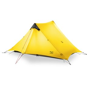 MIER Ultralight Tent 3-Season Backpacking Tent for 1-Person, 2-Person or 3 Person ( is NOT Included)