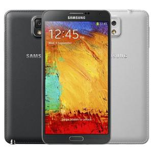Nota reformado original para Samsung Galaxy 3 N9005 N900A N900V N900T N900P 4G LTE 5,7 pulgadas Quad Core 3G 32 GB de RAM ROM 13 MP Teléfono libre 5pcs