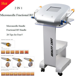 lazer klinik için cilt bakım kırışıklık giderme makinesi için fraksiyonel rf kırışıklık kaldırma Monopolar rf makine