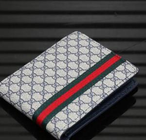 envío EB3G 2020 nueva bolsa libre billetero de alta calidad de la tela escocesa de los hombres de las mujeres del modelo de cartera puros diseñadores de alta gama billetera con ninguna caja