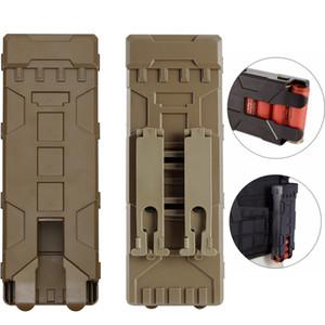 12 Ölçer Magazin Cephane Kartuş Holder Taktik Shotgun Cephane Çanta 10 yuvarlar yükle Tutucu Molle Mag Kılıfı