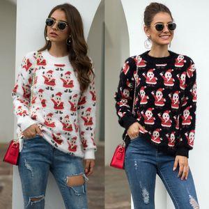 Women Long Sleeve Sweatshirt Pullover Tops Hoodie Sweater Christmas Jumper